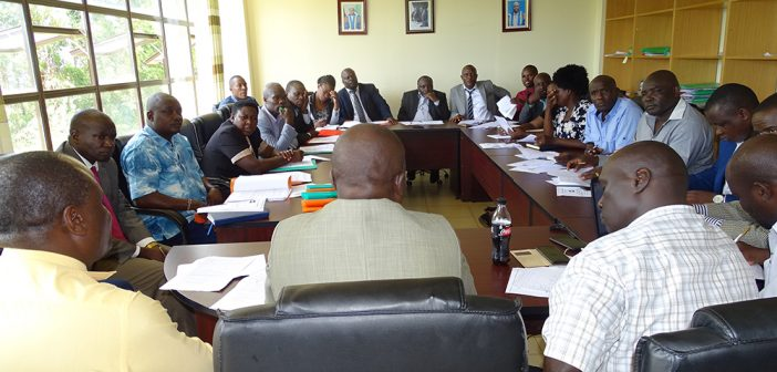 SIAYA COUNTY ASSEMBLY TRANSPORT AND INFRASTRUCTURE COMMITTEE BENCHMARKS IN KAKAMEGA