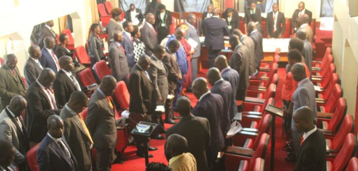 ASSEMBLY ADJOURNS FOR TWO MONTHS