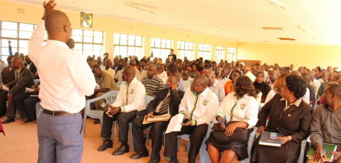 STAKEHOLDERS PRESENT VIEWS ON THE COUNTY FISCAL STRATEGY PAPER (CFSP) FY 2O19/2020