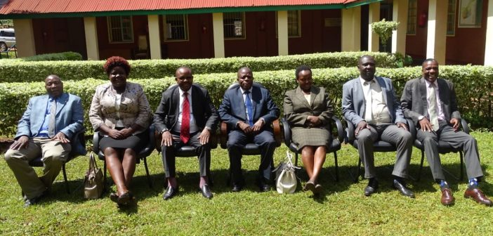 TWO SPEAKERS PAY A COURTESY CALL TO KAKAMEGA SPEAKER IN HUNT FOR CAF VOTES