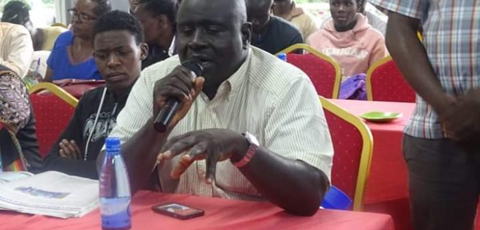 LANDS &  PHYSICAL PLANNING COMMITTEE HOLDS SENSITIZATION FORUM WITH COUNTY LANDS OFFICIALS